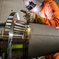 Steel Fabrication at JBS Scotland