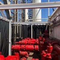 Oil Rig Blast Containment Curtain