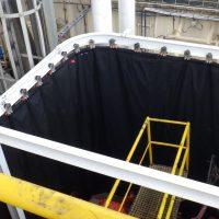 Blast Containment Curtain